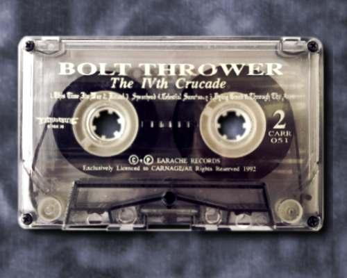 Bolt Thrower cassette 01