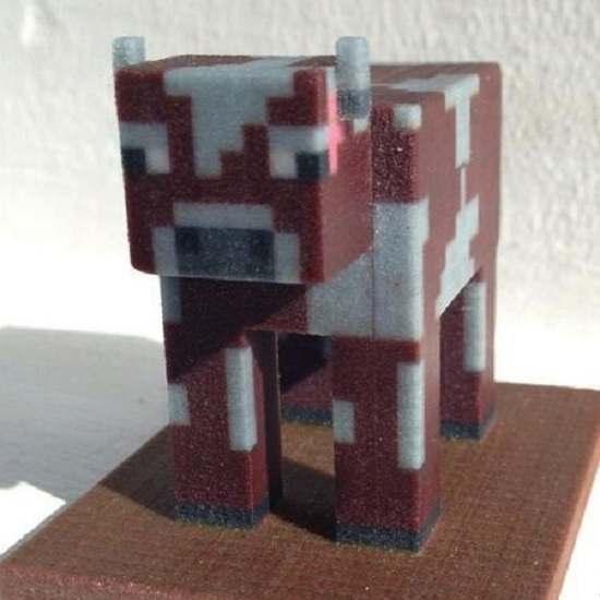 Wydrukowana krowa Źródło: www.3dprintplan.com