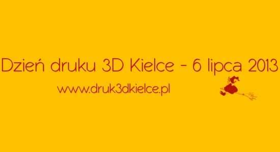 druk 3D - event drukarki 3d