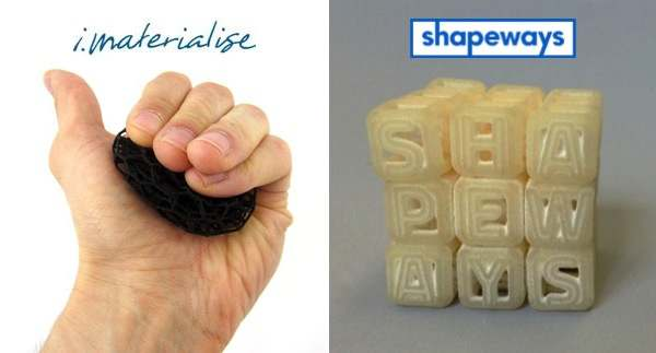 imaterialise vs shapeways