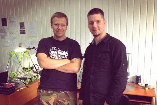 Krzysztof Dymaniuk Unique Design i Paweł Ślusarczyk Centrum Druku 3D
