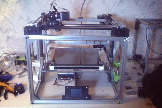 H-Bot w realizacji Źródło: www.3d-printers.pl