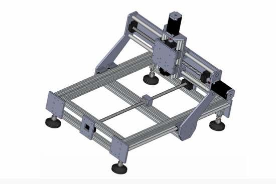 Frezarka CNC Źródło: www.idea-lab.pl