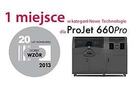 ProJet 660Pro wygrywa mini