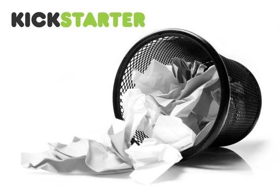 Kickstarter fail