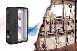 Skaner 3D Sense i Pi mini