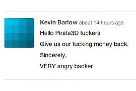 kolejny zgrzyt w obozie pirate3d mini