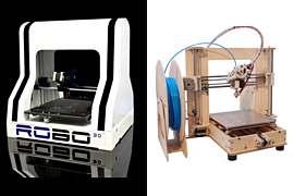 Robo 3D i Prusa mini