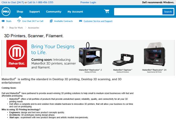 DELL MakerBot