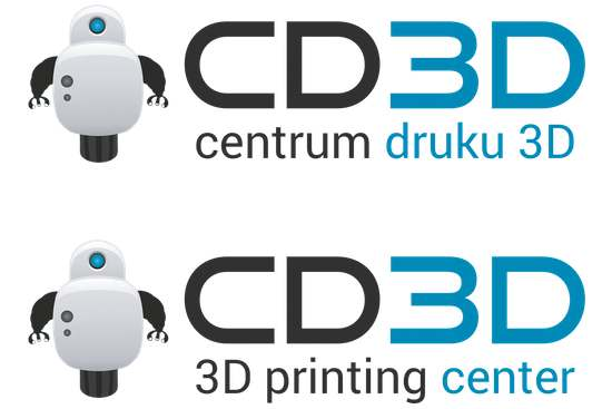 Polska i angielska wersja logo CD3D