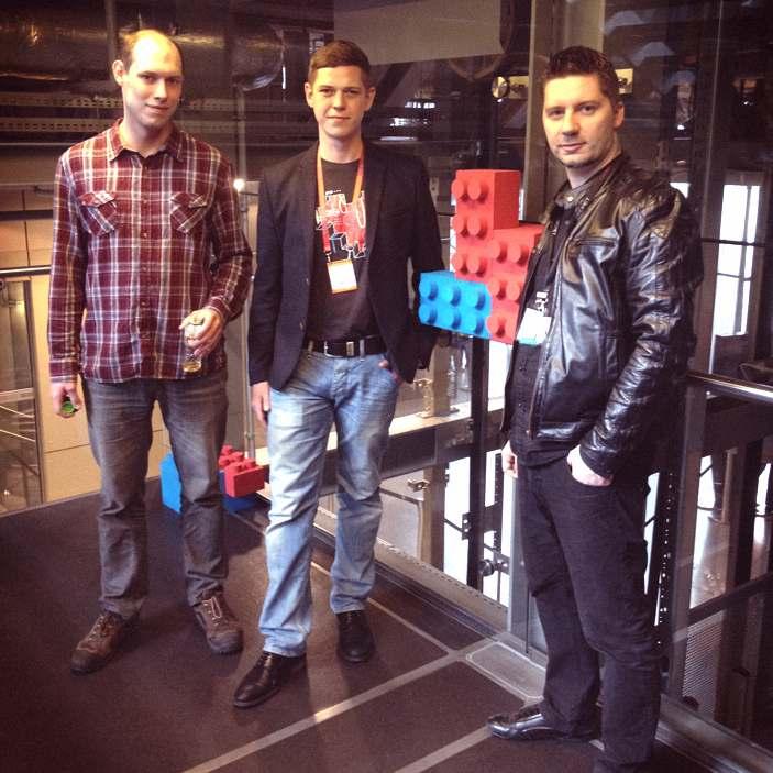 Jan Fuerst i Łukasz Bąchor Pirx 3D oraz Paweł Ślusarczyk CD3D