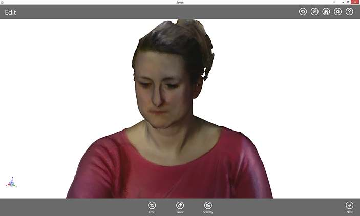 Oprogramowanie 3D systems Skaner 3D sense