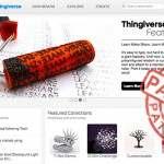 MakerBot Thingiverse patenty