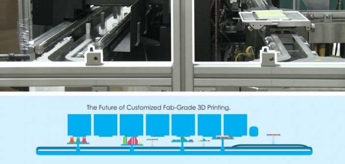Super szybka linia do seryjnego druku 3D, jaka powstawała na zlecenie Google