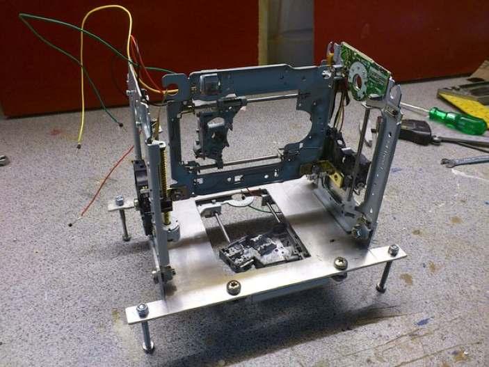 Poors man 3D printer 02