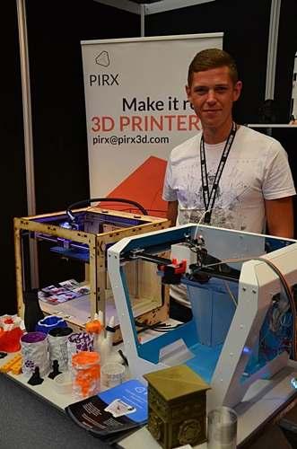 3D Printshow Londyn PIRX