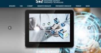 Strona Radomskiego Centrum Innowacji i Technologii