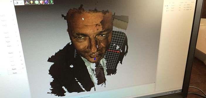 Matteo Renzi skan 3D