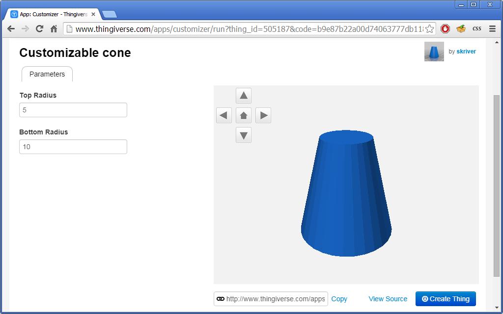 Konfigurowalne modele do druku 3D