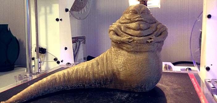 Jabba The Hut - PRIME 3D, warstwa 0,1 mm, średnia prędkośćdruku 70 mm/sek.