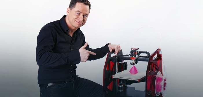 Patryk Kadlec - współzałożyciel 3DGence