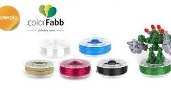 3D Filamenty colorFabb