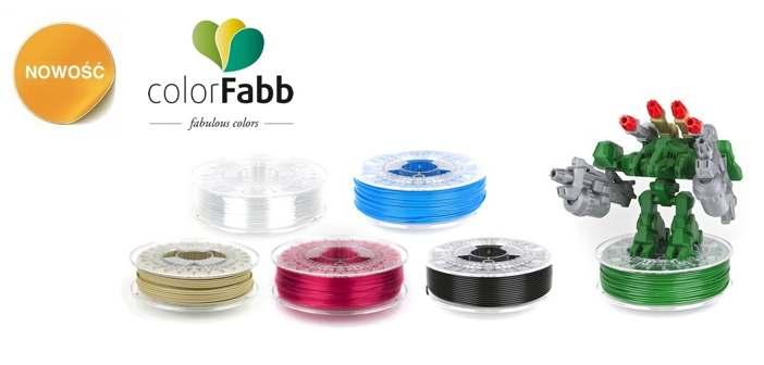 3D Filamenty colorFabb