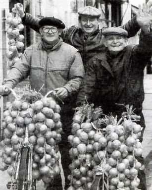 Sprzedawcy cebuli