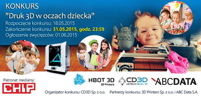 Druk 3D w oczach dziecka