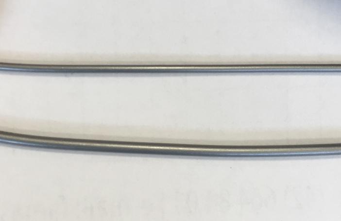 PLA Devil Design: średnica ok. 1.75 mm (dół) i ok. 1.3 mm (góra)