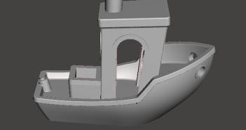 Łódka 3DBenchy