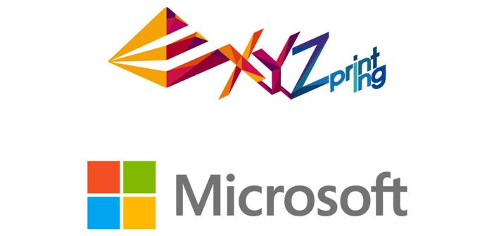XYZprinting i Microsoft