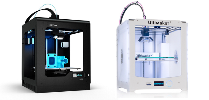 Zortrax Ultimaker