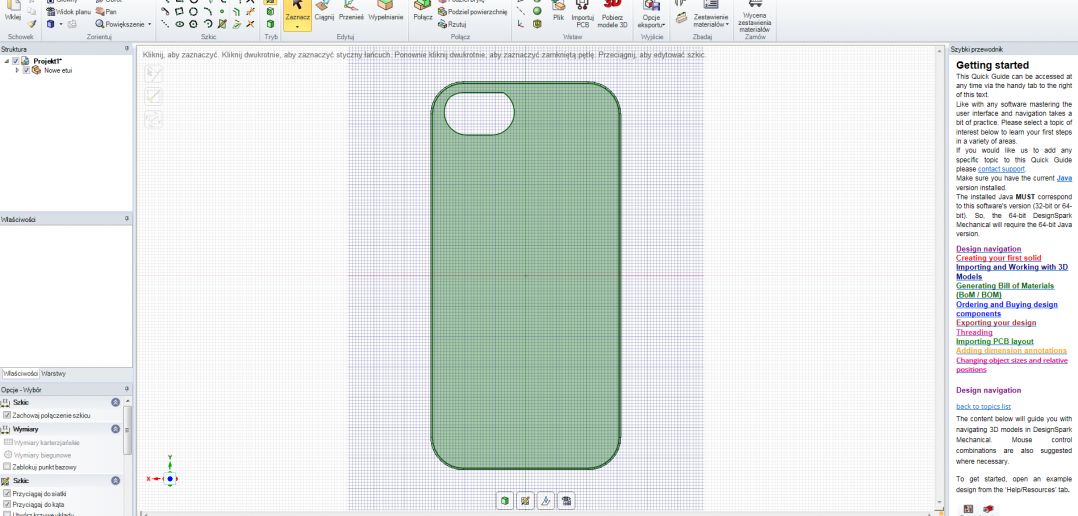 How To Design Your Own 3d Printable Iphone Case In Designspark Mechanical 3dpc Additive Manufacturing Final Parts And Prototypes