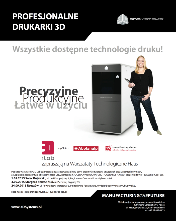 3D Systems HAAS poster