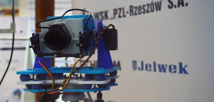 Głowica kamery głównej wydrukowana przez firmę Jelwek