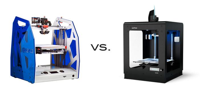 3DGence vs Zortrax
