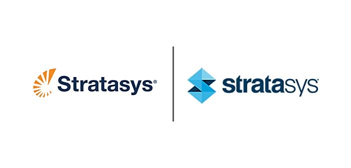 Stratasys nowe logo