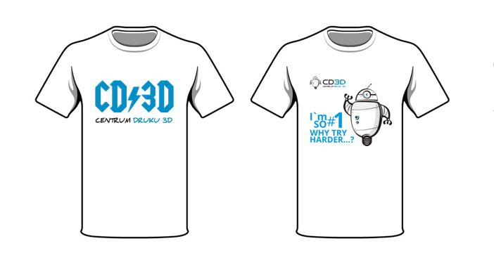 CD3D koszulki