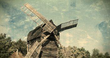 Stary wiatrak