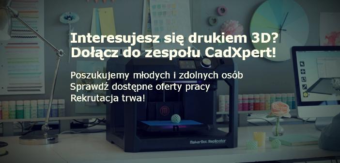 Oferty pracy CadXpert