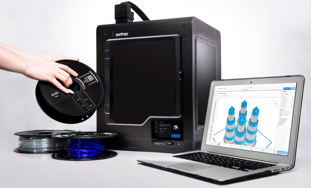 Zortrax M200 Plus - drukarki 3D dla szkół