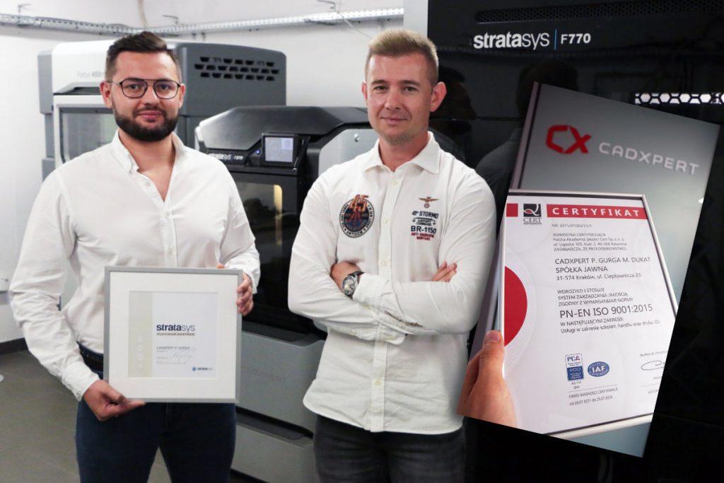 Założyciele CadXpert: Piotr Gurga oraz Maciej Dukat